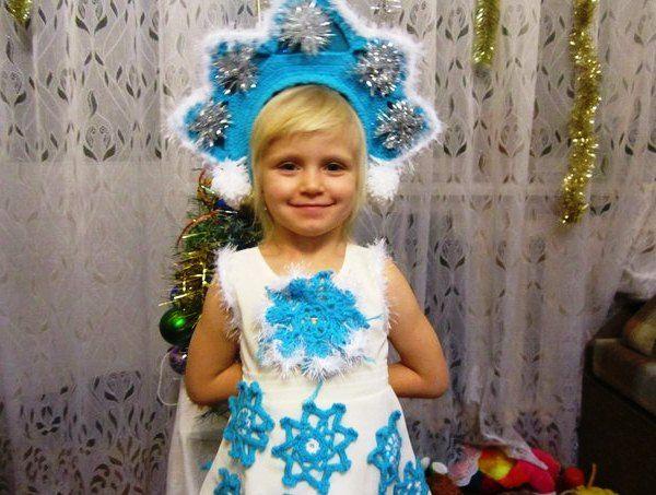 Детские костюмы снегурочки фото