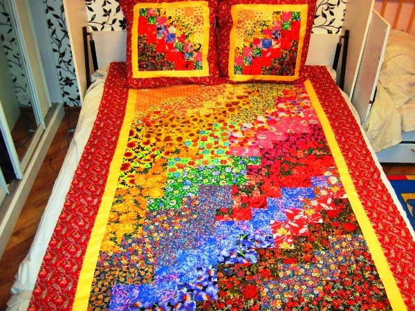 лоскутное одеяло фото 9