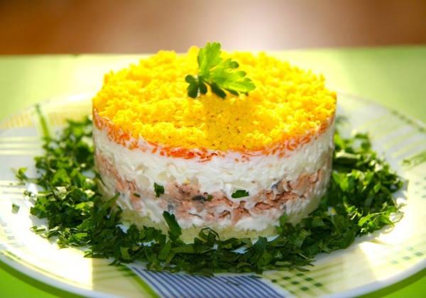 Топ вкусных салатов с фото