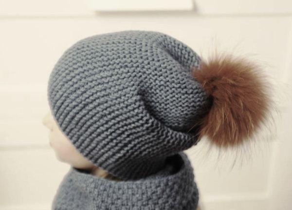 шапка бини спицами фото 3