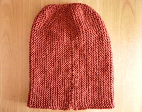 шапка бини спицами фото 6