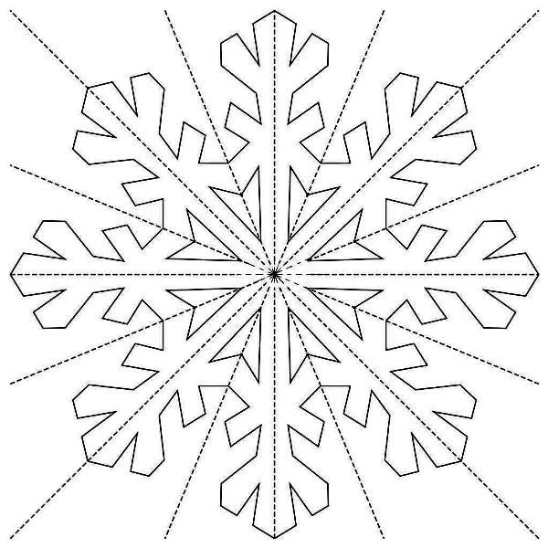 снежинки из бумаги фото 16