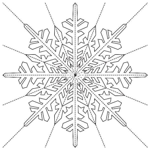 снежинки из бумаги фото 19
