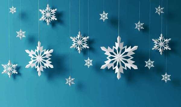 снежинки из бумаги фото 24