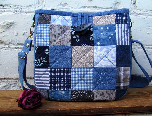 sumka-iz-staryh-dzhinsov-svoimi-rukami-foto-4 Что можно сделать из старых джинсов? Как сшить сумку, рюкзак, юбку, шорты, сарафан и жилетку из старых джинсов своими руками?