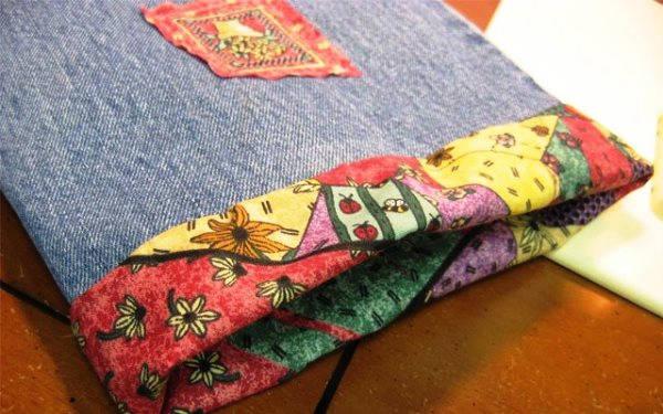 сумка из старых джинсов своими руками фото 9