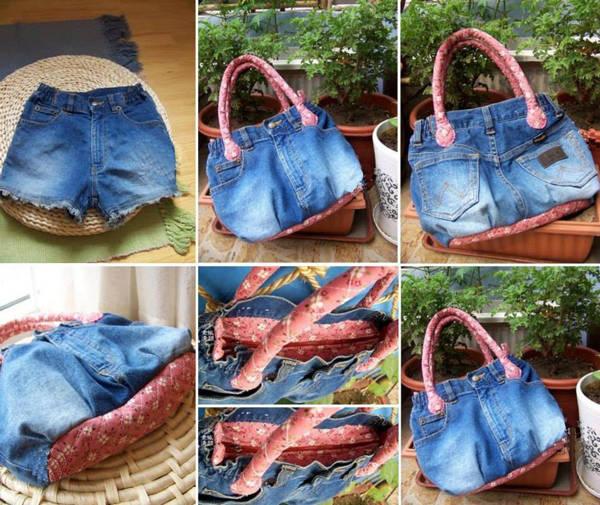 сумка из старых джинсов своими руками фото