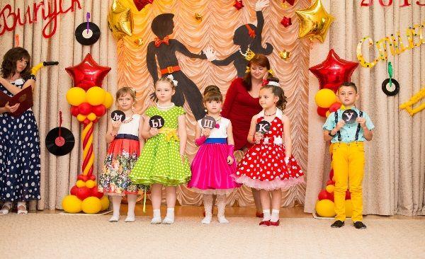 Фото детских платьев на выпускной