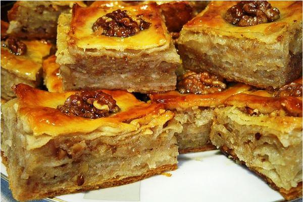 Пахлава турецкая рецепт с фото