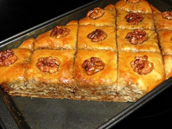 Армянская пахлава рецепт с фото пошаговое описание