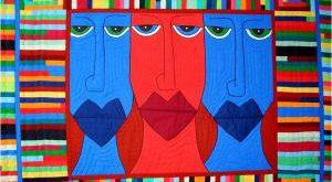 картины из лоскутков ткани своими руками