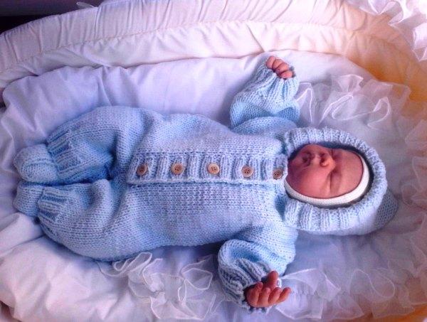 костюм для новорожденного фото 2