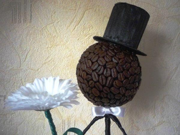 топиарий джентльмен из кофе