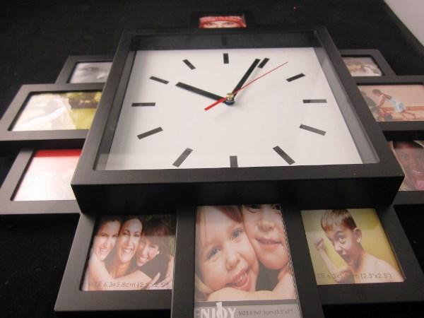 Дизайн настенных часов своими руками фото