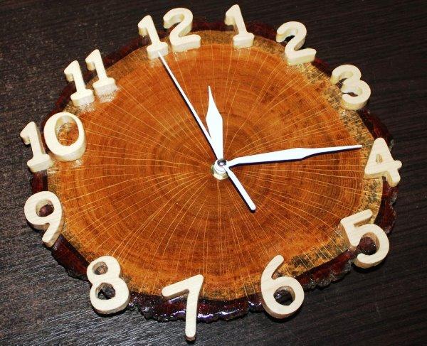 Часы из дерева своими руками фото