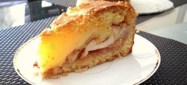 шарлотка с яблоками рецепт с фото 7