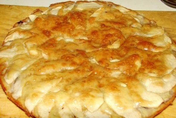 шарлотка с яблоками рецепт с фото 8