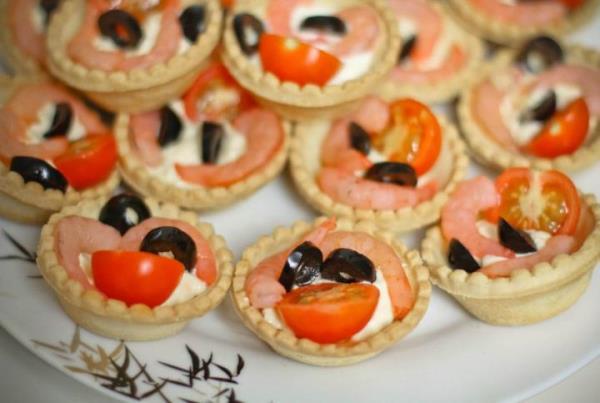Маленькие тарталетки с начинкой рецепты с фото самые вкусные