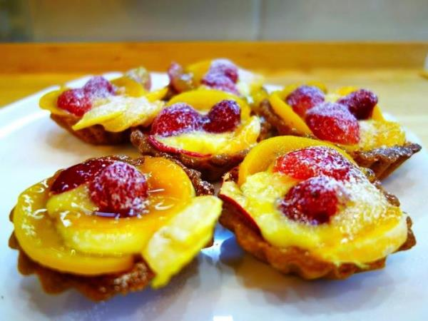 Сладкие десерты - тарталетки с начинкой рецепты с фото