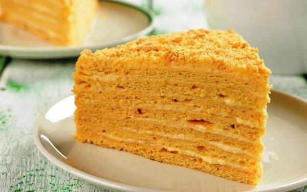 Торт Наполеон классический рецепт с фото