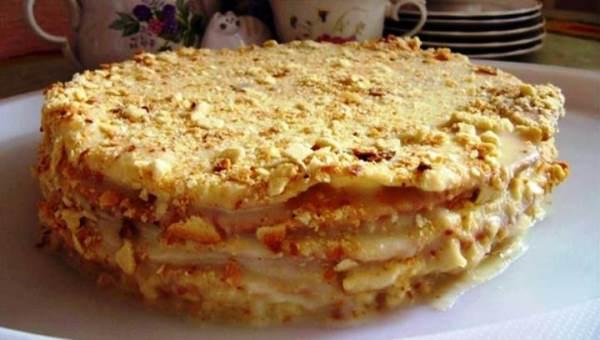 Торт Наполеон фото 7